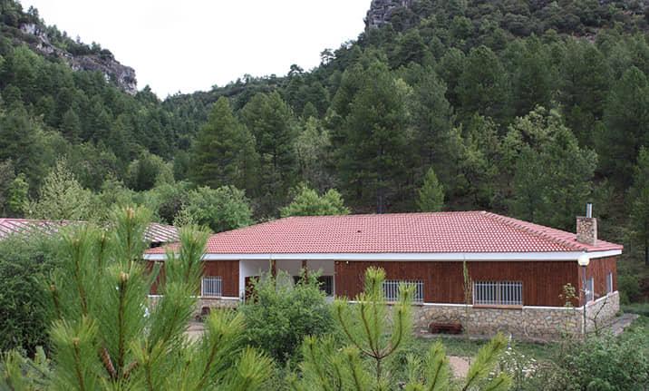 Albergue rural de Asdon Aventura en la Serranía de Cuenca