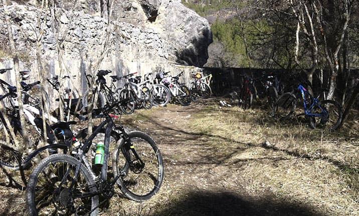 Alquiler de bicicletas de montaña en el Alto Tajo