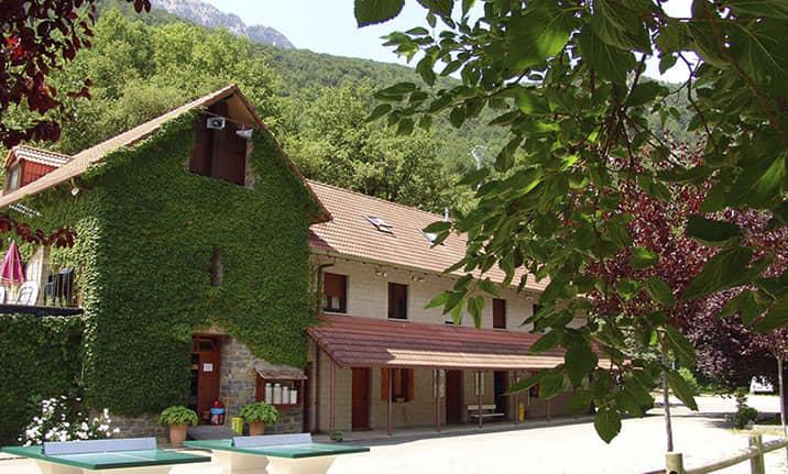 Centro de multiaventura de Asdon Aventura en Pirineos