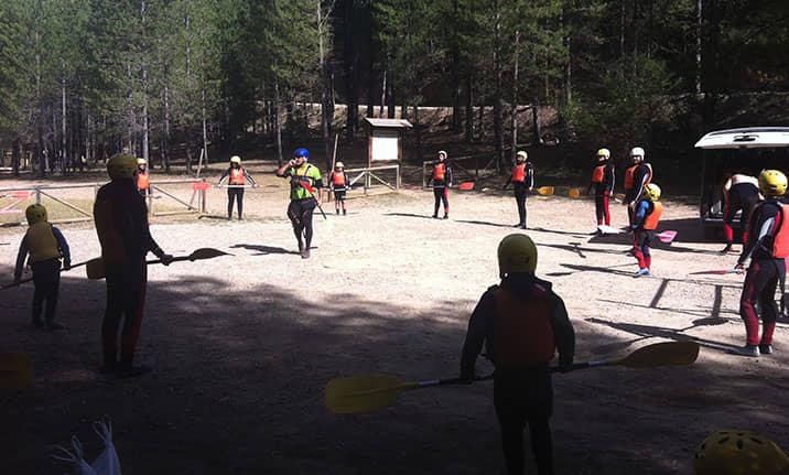 Curso de formación, aguas tranquilas en Alto Tajo