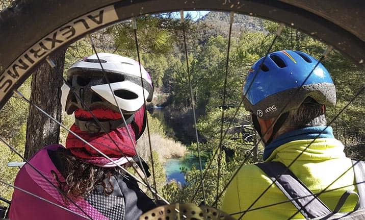 Descubre el parque natural del Alto Tajo en BTT