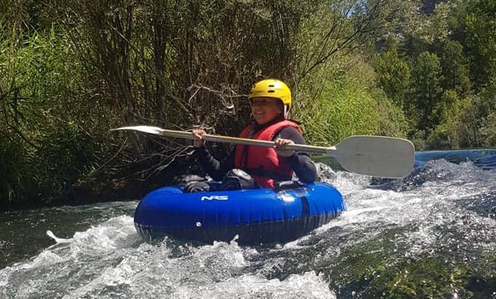 Equipamiento completo para river tubing en el Alto Tajo