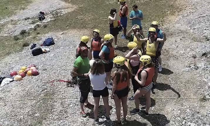Equipamiento completo, multiaventura y raid en la sierra de Cuenca Tajo