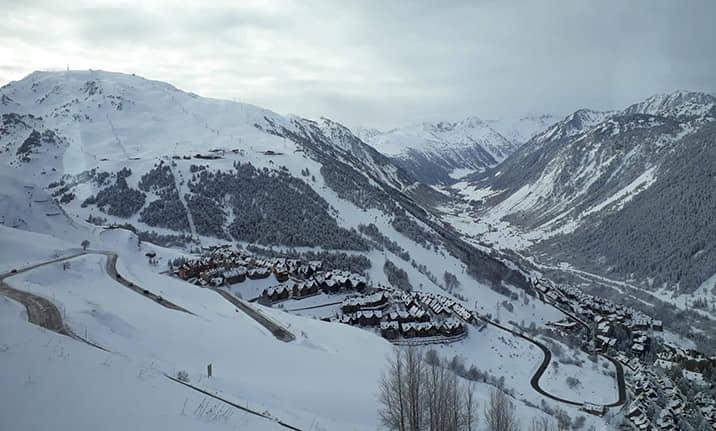 Estación de esqui de Baqueira - Cerler, asdon aventura