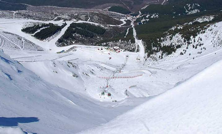 Estación de esqui de la Pinilla, asdon aventura