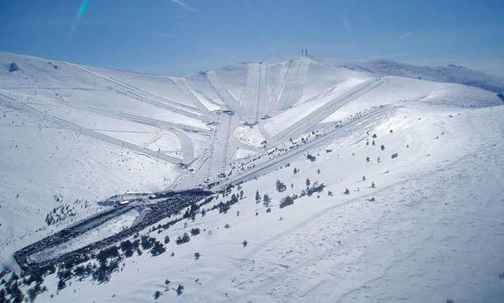 Estación de esqui de Valdesquí, asdon aventura