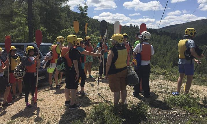 Curso de formación, multiaventura en Cuenca