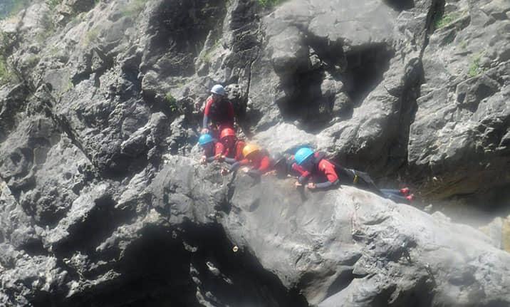 Curso de formación, multiaventura en Pirineos