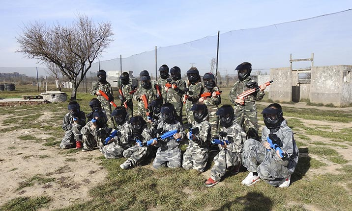 Curso de formación, paintball en Madrid