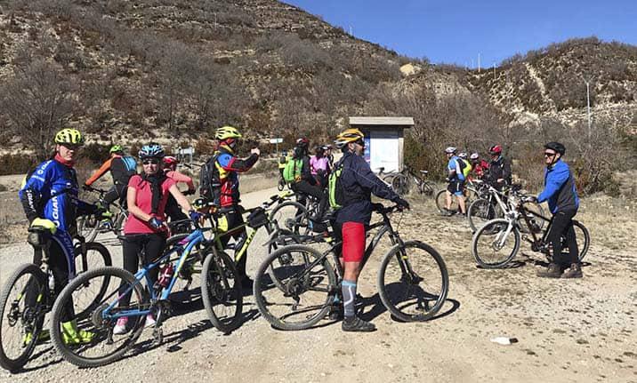 Curso de formación, ruta BTT en la sierra de madrid