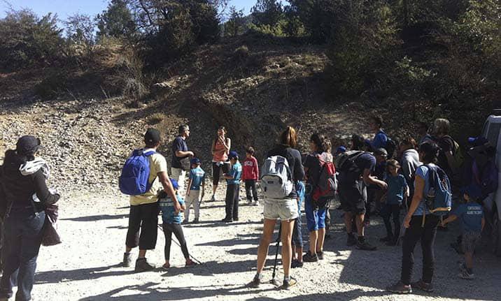 Curso de formación, senderismo en la sierra de cuenca