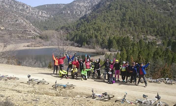 Rutas BTT para grupos en el Alto Tajo con Asdon Aventura