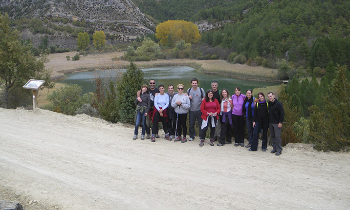 Actividad para grupos, senderismo en el Alto Tajo