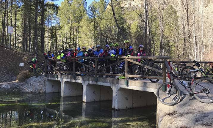 Actividad para grupos, ruta BTT en la sierra de Madrid