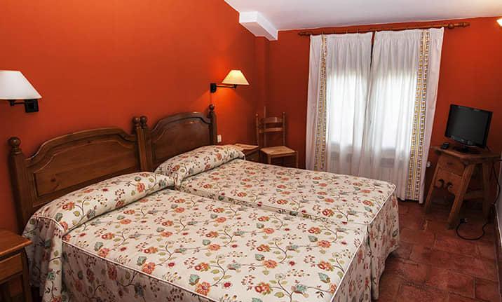 Habitación de hotel rural asociado, Asdon Aventura Alto Tajo