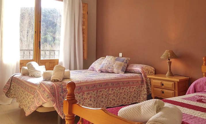 Habitación de hotel rural asociado, Asdon Aventura Serranía de Cuenca
