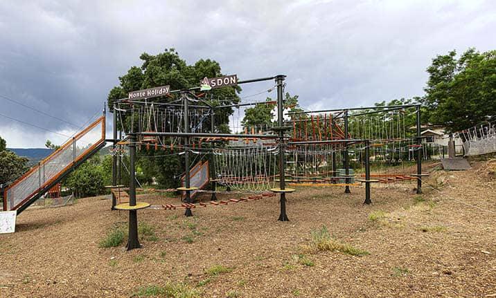 Instalaciones Parque Aventura