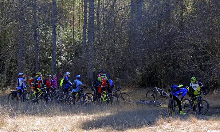 Rutas guiadas, alquiler de mountain bikes y centro BTT en el Alto Tajo