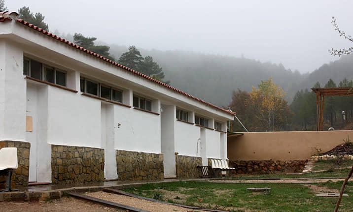 Vestuarios Albergue serrania de Cuenca, Asdon Aventura