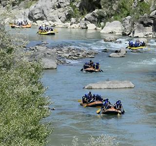 Rafting en el Pirineos, Team Building y empresas